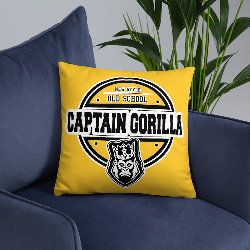 captain-gorilla - Captain Gorilla 'Circle' Pillow - Captain Gorilla -