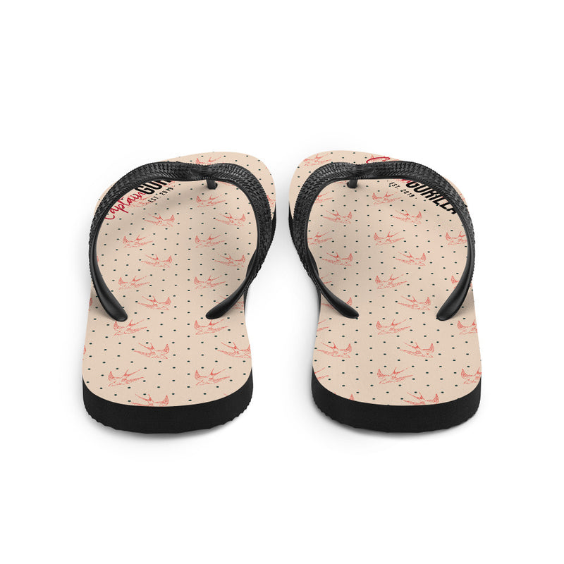 'Captain Gorilla - Birds' Flip-Flops