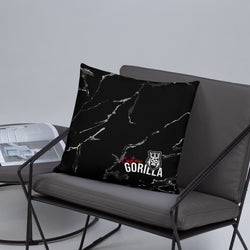 captain-gorilla - Captain Gorilla Marble' pillow - Captain Gorilla -