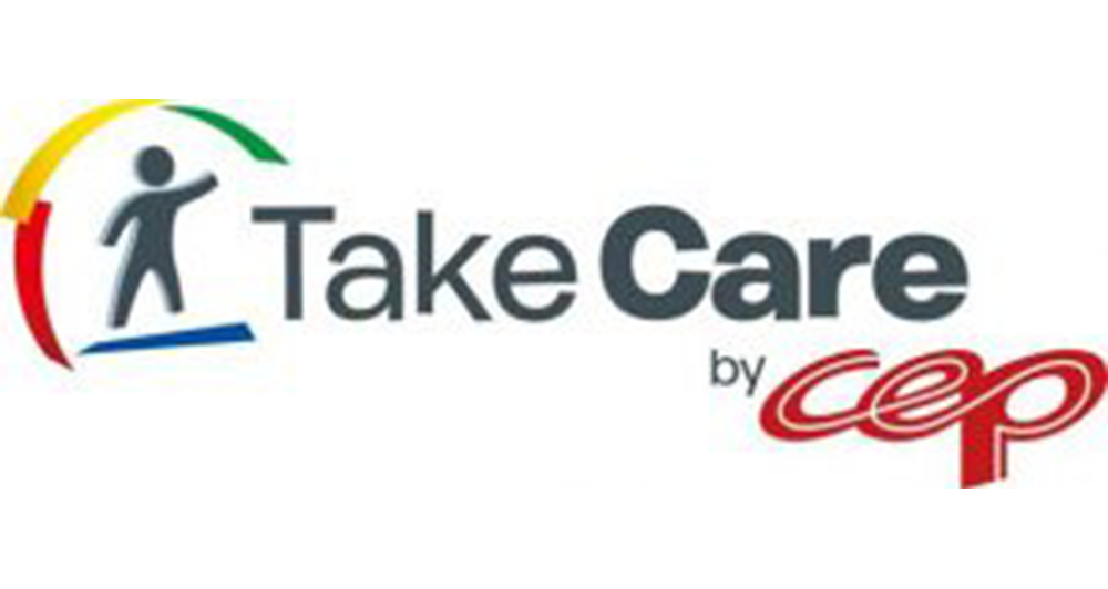 Take care by CEP logo
