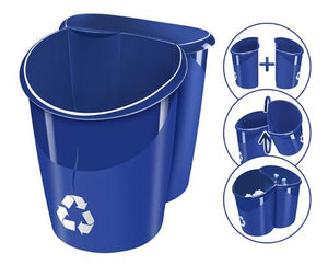 CEP Recycle Blue Basket 15L