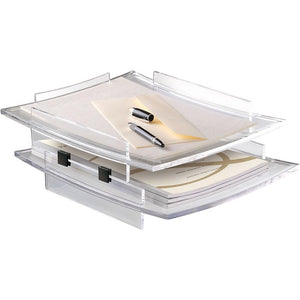 CEP Kit of 2 x Acrylight Letter Tray #400 with Risers #410