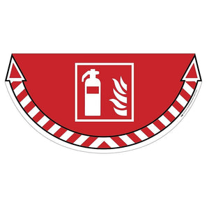 Floor Marker-Fire Extinguisher Red