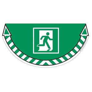 Floor Marker-Emergency Exit Green