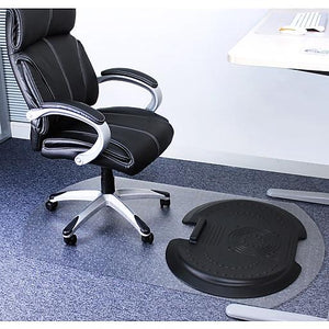Floortex Poly Chairmat Sit and Stand w/System 5000 (Carpet)