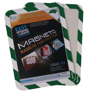 Magneto Self-Adhesive Frame Grn/Wht