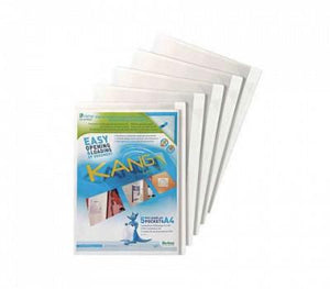 Kang Easy Load Repositionable Adhesive Pocket with corner closure 5/pk