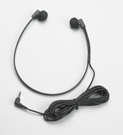Lightweight Headset w/domed ear pcs