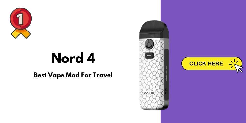 Nord 4 Best Vape Mod for Travel