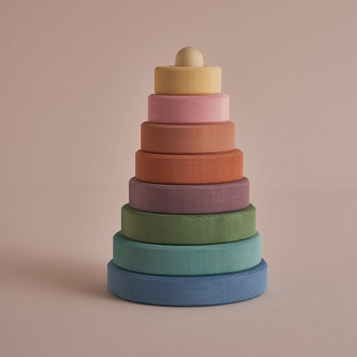 Raduga Grez Pastel Earth Stacking Tower