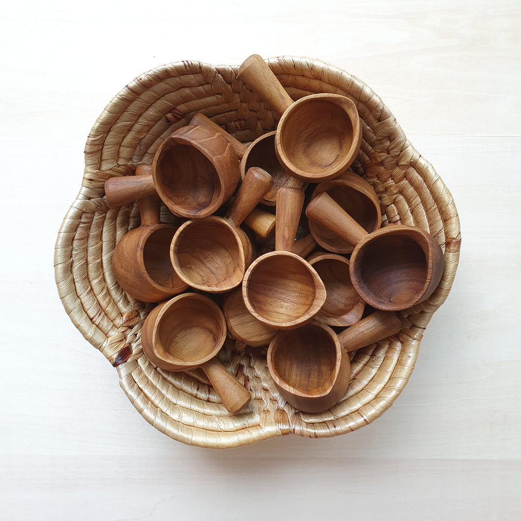 Wooden Mini Pot Spoon