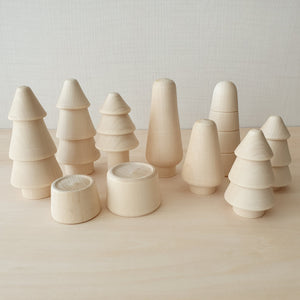 Natural Coniferous Forest (10 pieces)