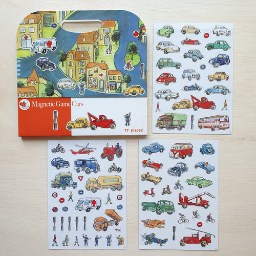Magnetic Cars Activity Book