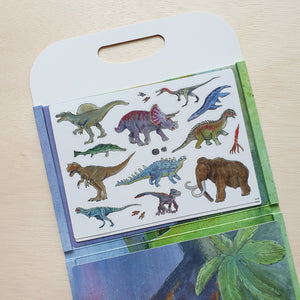 Magnetic Dinosaur Activity Book