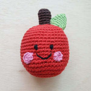 Handmade Apple Rattle