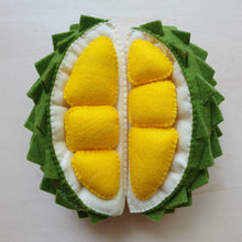 Load image into Gallery viewer, Felt Fruit - Durian