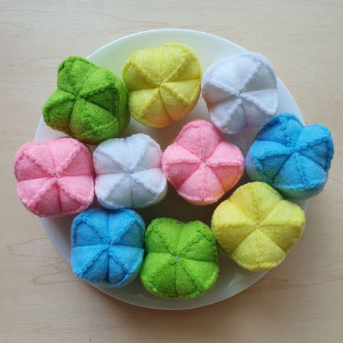 Felt Sweet Treats - Huat Kueh (发糕)