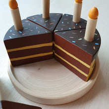 Load image into Gallery viewer, Little Yellow Brick x CraftedbyLarissa - Chocolate Vanilla Cake With Candles