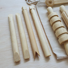 Load image into Gallery viewer, Wooden Roller Set
