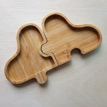 Load image into Gallery viewer, Wooden Tray - 4 Piece Clover
