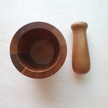 Load image into Gallery viewer, Wooden Pestle and Mortar (Acacia)