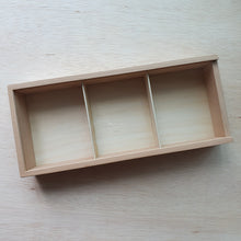 Load image into Gallery viewer, Wooden Tray With Compartments