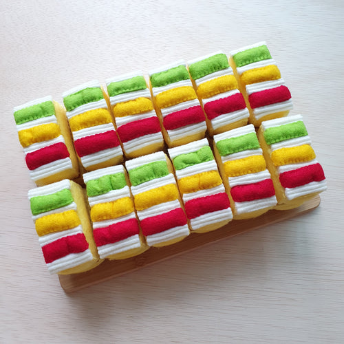 Felt Sweet Treats - Traffic Light Cake
