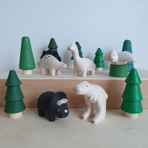 T-lab Wooden Dinosaurs