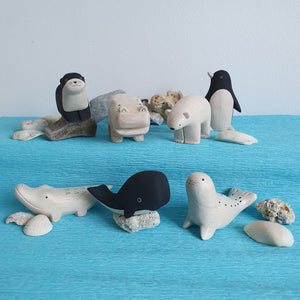 T-lab Wooden Sealife Animals