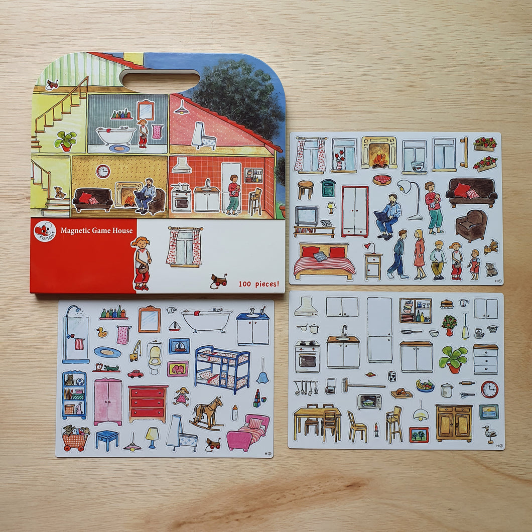 Magnetic House Activity Book