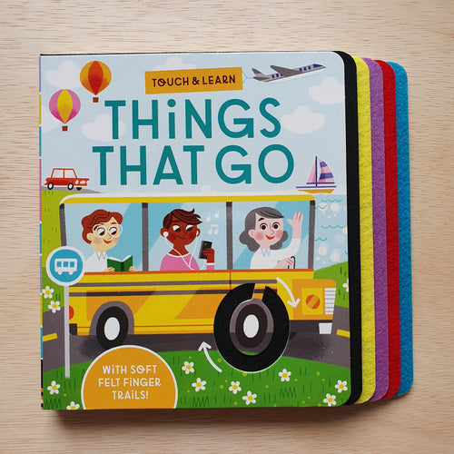 Touch And Learn: Things That Go