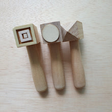 Load image into Gallery viewer, Wooden Hammer Stampers