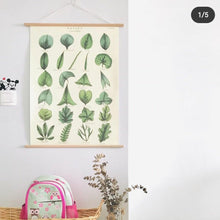 Load image into Gallery viewer, Cavallini Vertical Wood Hanging Poster Kit