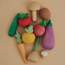 Load image into Gallery viewer, Raduga Grez Wooden Vegetable Set
