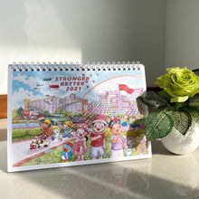 Load image into Gallery viewer, Ah Guo 2021 Table Calendar (Instock)