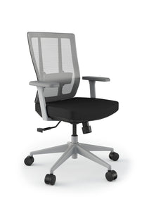 Grace Ergonomic Stylish Office Mesh Chair in Black or White