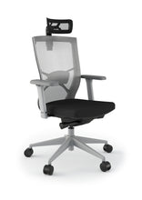 Load image into Gallery viewer, Influence Ergonomic Office Mesh Chair in Black or White
