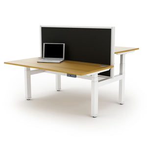 Autonomy Pro Electric Back-to-Back Sit/Stand Bench Desk