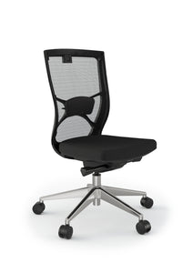 Influence Ergonomic Office Mesh Chair in Black or White