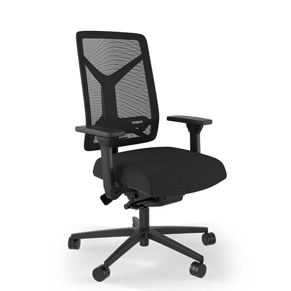 Expectation Ergonomic Office Chair in Black Mesh