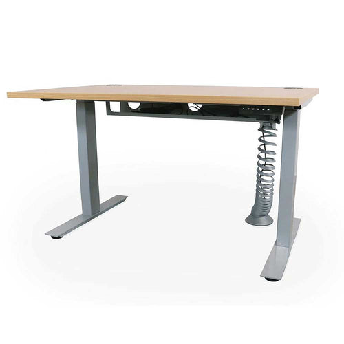 Liberty Single Motor Electric Sit/Stand Single Desk with Cable Management