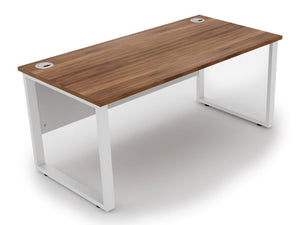 Prometheus White Bench Frame Workstations