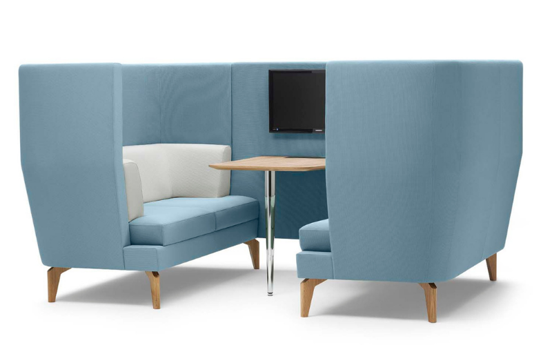Booth seating for offices