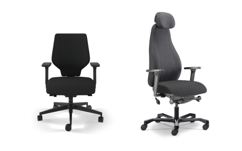 Fabric office chairs for offices