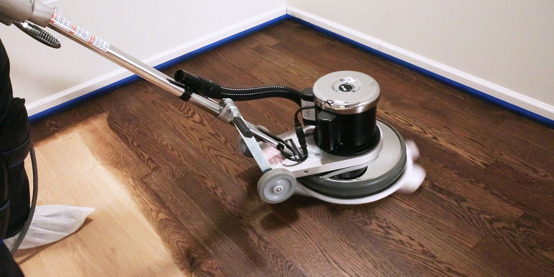 How to apply Oil Plus 2C to a floor.
