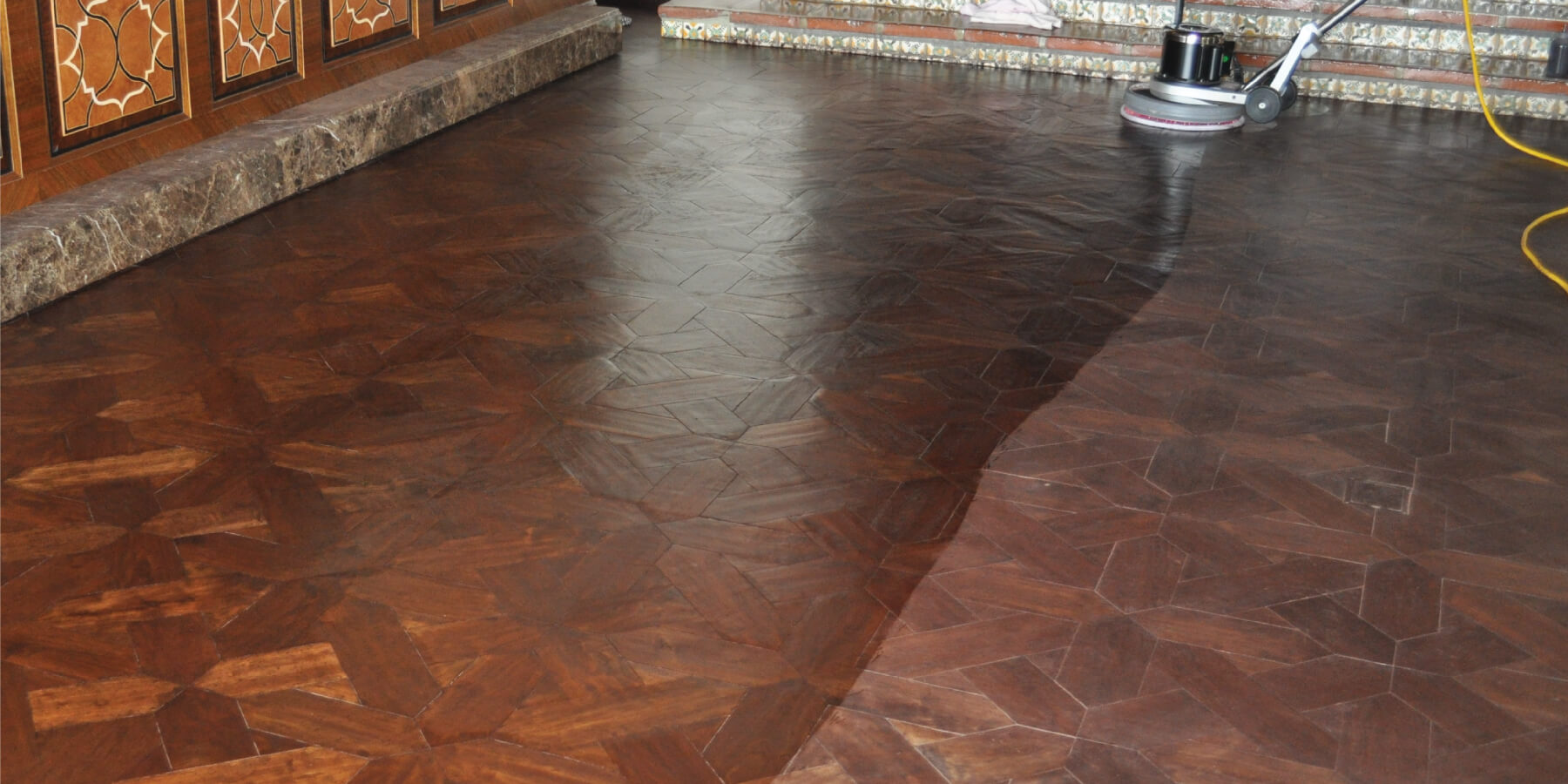 How to renovate a Rubio Monocoat floor.