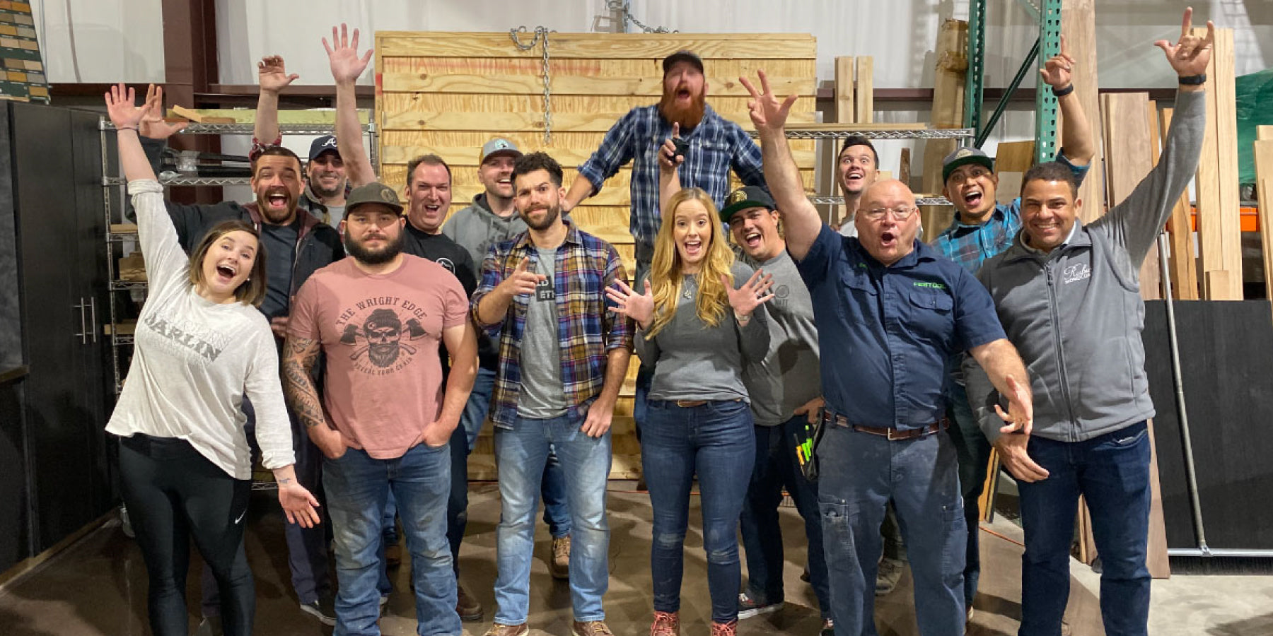 Woodworkers Build for Charity