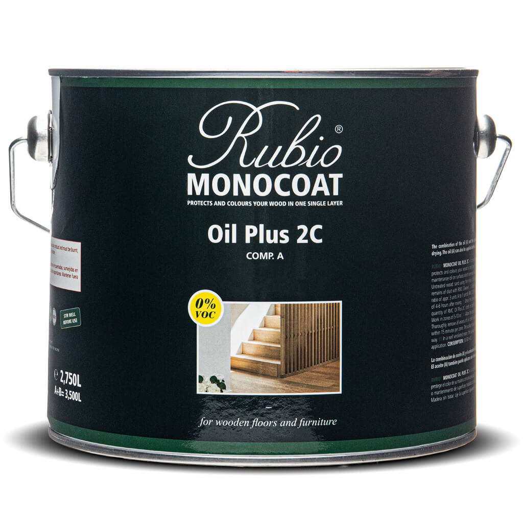 Rubio Monocoat Oil Plus Part A - 2.75 Liter