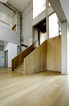 French Oak flooring in a college