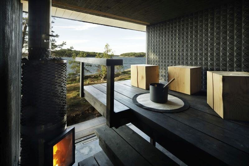 Rubio Monocoat used to finish wood throughout private home in Finland.